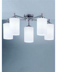 C9315/727 5 Light Semi Flush Ceiling Light