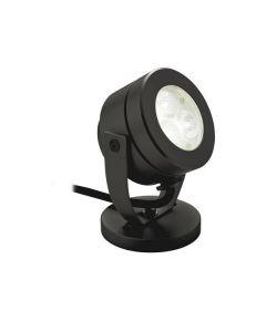 Firstlight 8241BK Black Waterproof LED Wall And Spike Spotlight, IP68