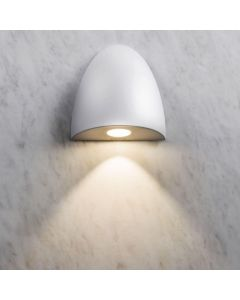 Astro 1348002 Orpheus LED Simple Bathroom Wall Light in White Finish