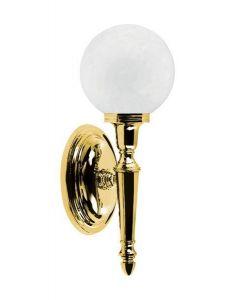 Elstead BATH/DRYDEN4 1 Light Solid Brass Bathroom Wall Light