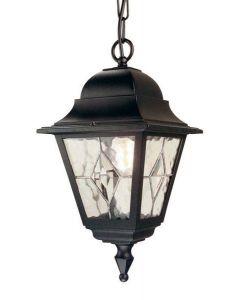 Elstead NR9 Norfolk period black exterior chain lantern, IP43