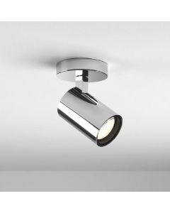 Astro 1393004 Aqua One Light Bathroom Ceiling Spotlight In Chrome