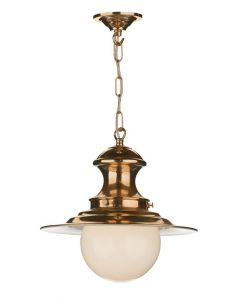 David Hunt Lighting EP0164 Baby Station Lamp Copper Traditional Pendant