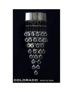 IL30786 Colorado 2 Light Crystal Wall Lamp