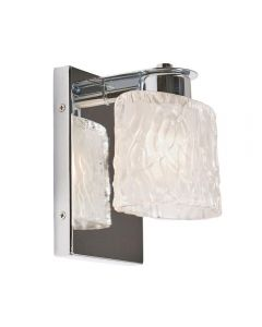 QZ/SEAVIEW1 BATH Seaview 1 Light Bathroom Wall Light In Polished Chrome