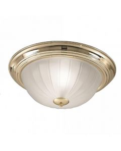 C5639 Flush Ceiling Light With Brass Finish