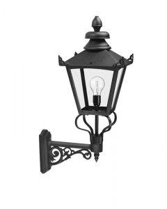 Elstead GB1/BLK Grampian exterior wall lantern, IP23