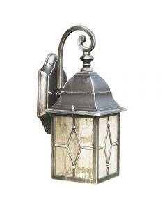 Searchlight 1642 Genoa Outdoor Wall Lantern Light In Die Cast Aluminium