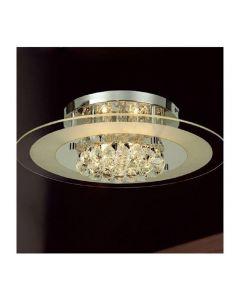 IL30022 Delmar Chrome 6 Light Ceiling Light