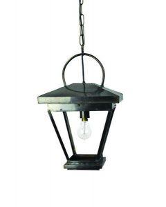 507 Small Solid Brass New Hampshire 1 Light Hanging Lantern
