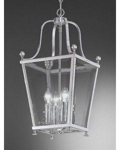 L7002/4 Everett 4 Light Chrome Hanging Lantern
