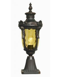 Elstead PH3/M Philadelphia medium exterior pedestal lantern
