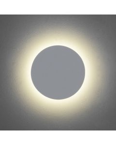 Astro 1333002 Eclipse Round 250 Minimalist LED Wall Light in Plaster Finish
