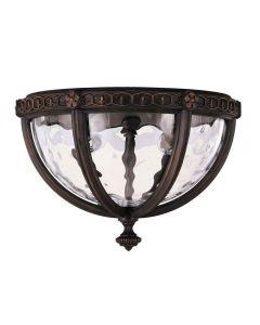 FE/REGENT/F Outdoor 2 Light Flush Die Cast Aluminium Light
