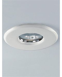 RF187WH 12v White Recessed Bathroom Fixed Downlight IP65