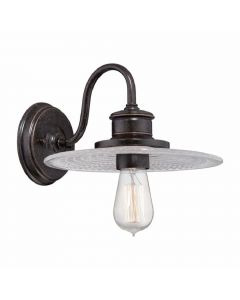 Elstead QZ/ADMIRAL1 IB Admiral 1 Light Wall Light In Imperial Bronze