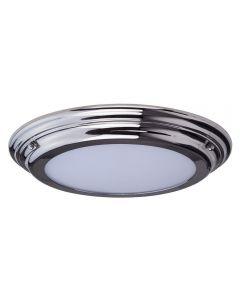 Elstead WELLAND/F PC Welland Medium Bathroom Flush Ceiling Light In Polished Chrome