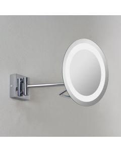 Astro 1097002 Gena Plus magnifying swing-arm illuminated bathroom mirror, IP44