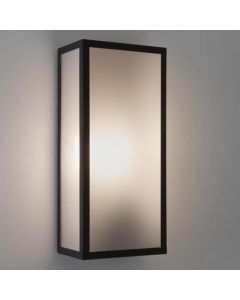 Astro 1183003 Messina Rectangular Outdoor Wall Light Frosted Glass