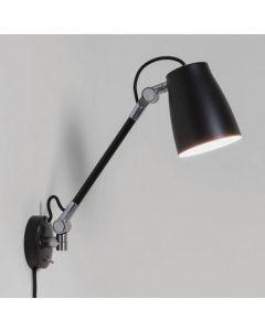 Astro 1224016 Atelier Grande Wall Light in Black Finish