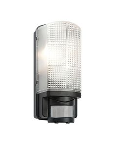 Saxby 48739 Motion PIR Outdoor Wall Light in Black