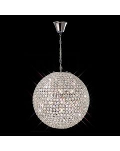 IL30201 Ava 7 Light  Crystal Ceiling Pendant