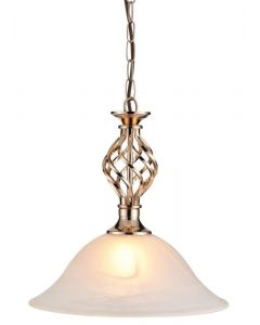 Classic 1 Light Ceiling Pendant Light In French Gold