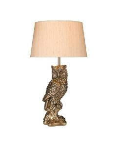 David Hunt Lighting TAW4263 Tawny Owl Table Lamp In Bronze, Base Only