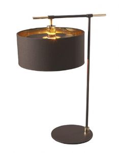 BALANCE/TL BRPB Balance Table Lamp In Brown And Polished Brass