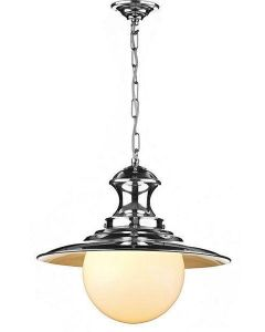 David Hunt Lighting EP50 Station Lamp Chrome Traditional Pendant