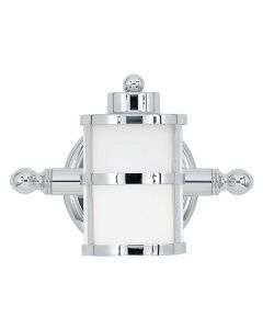 QZ/TRANQUILBAY1 Tranquil Bay Bathroom Chrome Wall Light