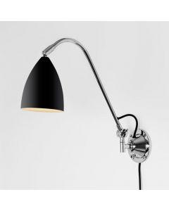 Astro 1223022 Joel Grande Adjustable Wall Light in Black Finish