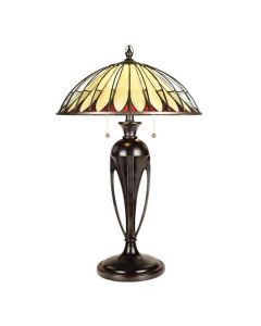QZ/ALAHAMBRE/TL Alahambre Tiffany Bronze Table Lamp