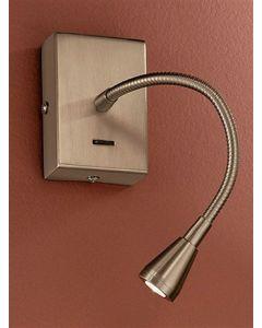W042 Bronze LED Adjustable Reading Wall Light