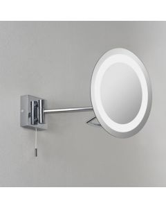 Astro 1097001 Gena switched, swing-arm, illuminated bathroom mirror