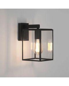 Astro Box Lantern 450mm Exterior Wall Light In Textured Black - 1354007