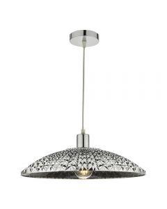 Dar YAT6510 Yatima Easy Fit Ceiling Pendant In Grey