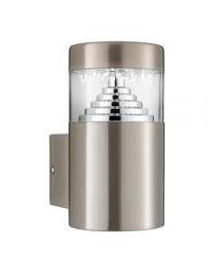 Searchlight 7508 Stainless Steel LED Outside Wall Lamp
