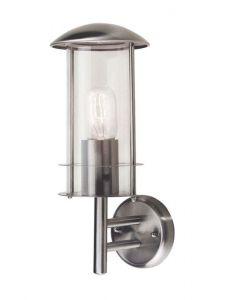Elstead BRUGES stainless steel exterior wall lantern, IP43