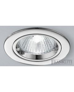 REC276 Recessed Downlight With Chrome Finish