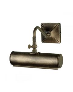 Elstead PL1/10 BLK/GLD Small Traditional Picture Light In Black/Gold