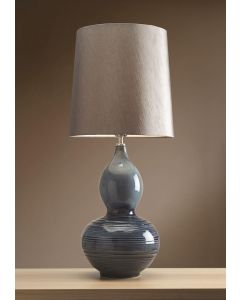 LUI/LAPIS GOURD Lui Collection Table Lamp with Shade