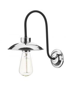 David Hunt Lighting DAL0750 Dallas Single Wall Light in Polished Chrome