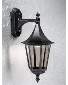 L1606-1 Boardwalk Traditional Exterior Wall Lantern, IP43