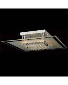 IL30024 Delmar 6 Light Polished Chrome Ceiling Light
