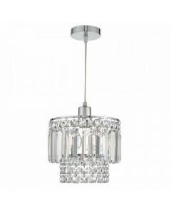 Dar KYL6550 Kyla Easy Fit Ceiling Pendant In Assorted Glass