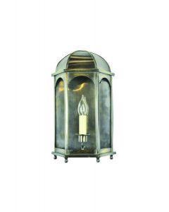 737 Small Solid Brass Duomo 1 Light Wall Lantern
