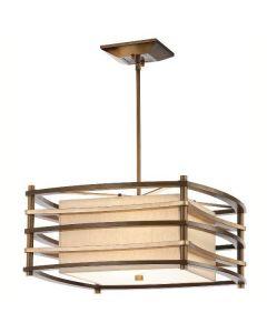 KL/MOXIE/P/S Moxie Bronze 2 Light Small Ceiling Pendant