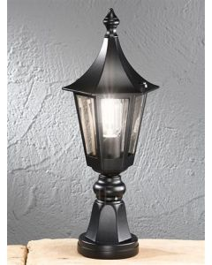 L1604-1 Boardwalk Exterior Pedestal Lamp IP43
