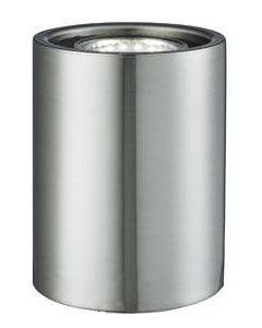 Small Modern Satin Silver LED Floor / Table Lamp Uplighter